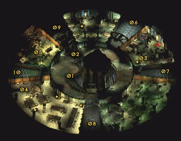 Entrance to Corellon - Severed Hand - Icewind Dale - poradnik do gry