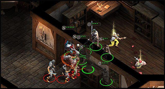 Wykorzystuj otoczenie do blokowania przeciwników. - Mechanika walki | Walka - Pillars of Eternity - poradnik do gry