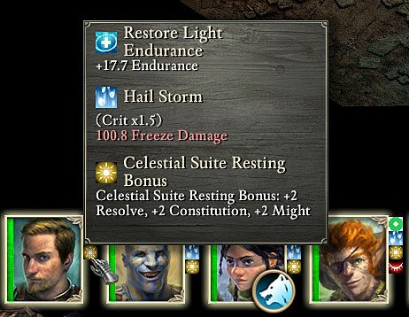 Bardzo ważną rolę podczas walki pełnią wszelkie modyfikatory - Mechanika walki | Walka - Pillars of Eternity - poradnik do gry