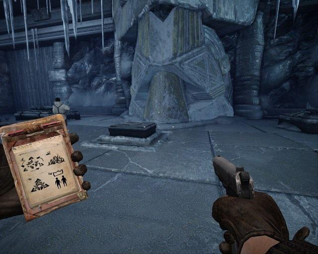 Tutaj pojawia się drzwi po tym jak właściwie zapalisz ogień - Ice Temple - Opis przejścia - Deadfall Adventures - poradnik do gry