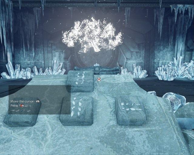 Po chwili drogi zobaczysz przed sobą mapę, która wygląda bardzo podobnie do tej, którą znalazłeś w piramidzie - Ice Temple - Opis przejścia - Deadfall Adventures - poradnik do gry