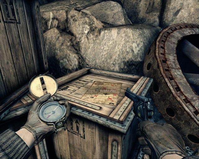 Niedaleko pocz�tku gry czasami mo�na si� natkn�� na map� - Mines - Opis przej�cia - Deadfall Adventures - poradnik do gry