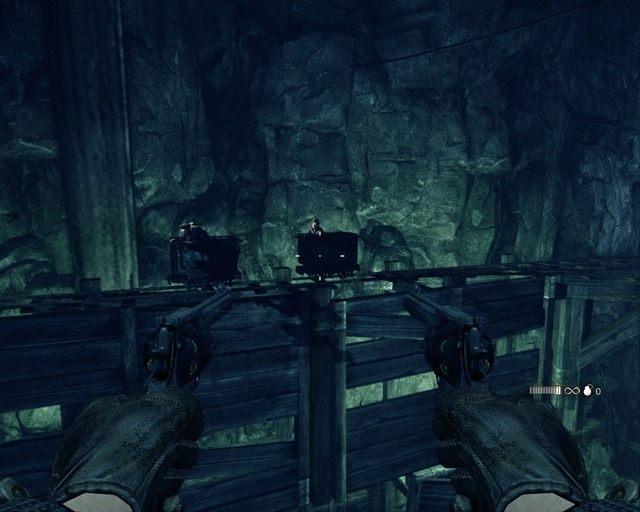 Jazda bez trzymanki z dwoma rewolwerami - Mines - Opis przej�cia - Deadfall Adventures - poradnik do gry