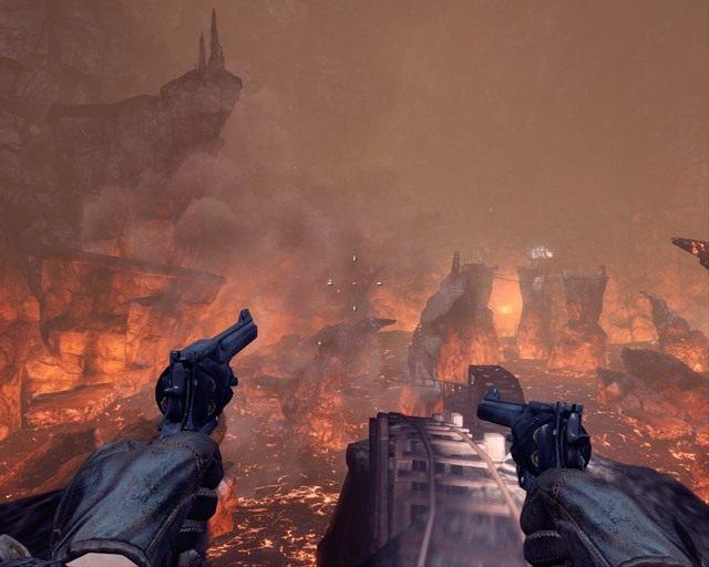 To chyba kolejka do jądra ziemi... - Mines - Opis przejścia - Deadfall Adventures - poradnik do gry
