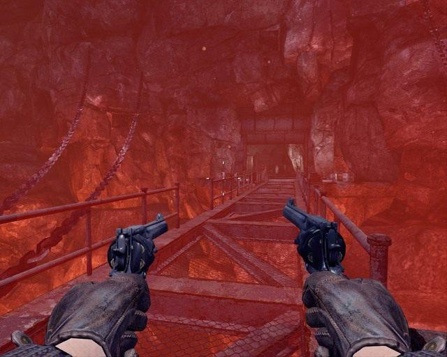 Takie mosty opuszczasz za pomoc� prze�acznika - Mines - Opis przej�cia - Deadfall Adventures - poradnik do gry