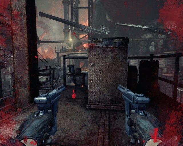 Za pomocą tego mechanizmu przesuń jedną rampę przełącznikiem w prawo - Mines - Opis przejścia - Deadfall Adventures - poradnik do gry