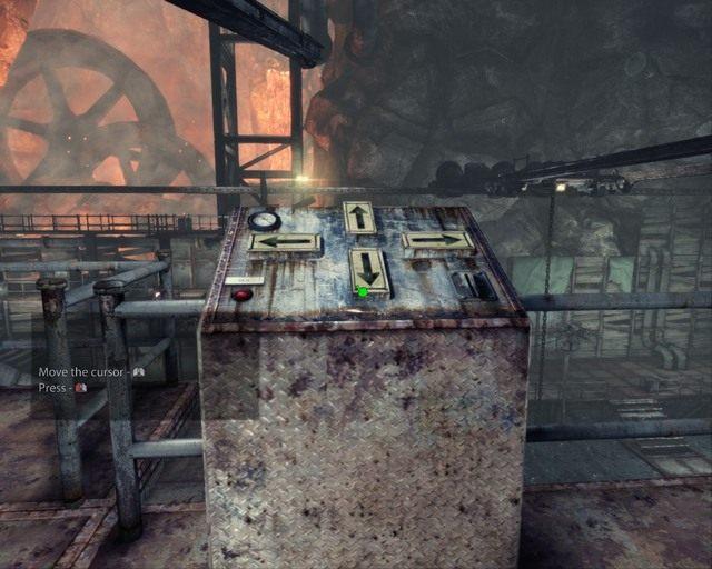 Za pomocą tej konsoli przesuwaj hak w lewo - Mines - Opis przejścia - Deadfall Adventures - poradnik do gry