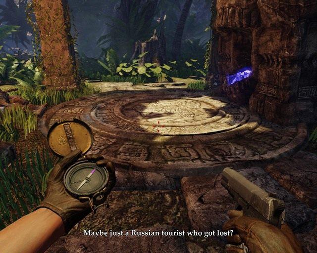 Pierwszego skarbu nie spos�b przegapi� - Mayan Jungle - Opis przej�cia - Deadfall Adventures - poradnik do gry