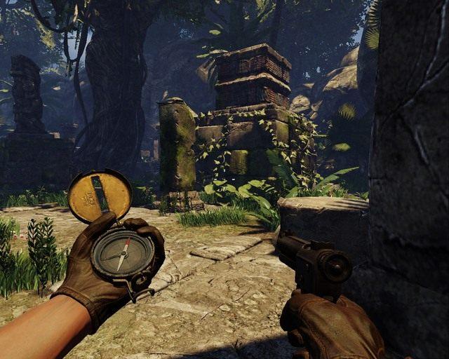 Twoim oczom, co chwila b�d� ukazywa� si� ruiny - Mayan Jungle - Opis przej�cia - Deadfall Adventures - poradnik do gry