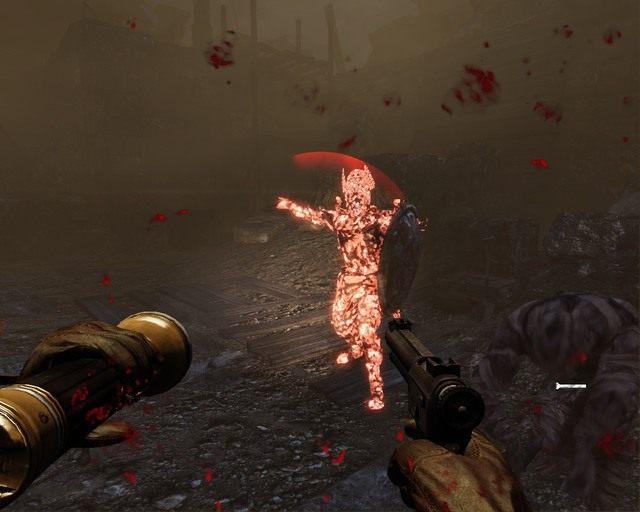 Na koniec etapu zaatakuje cię brygada mumii, latarka w dłoń - Mayan Jungle - Opis przejścia - Deadfall Adventures - poradnik do gry
