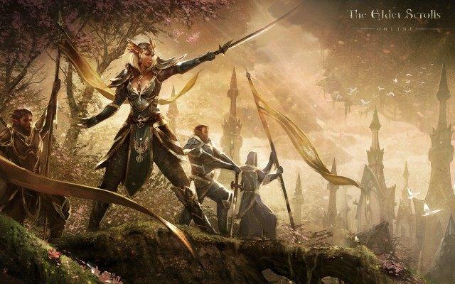 Królowa Ayrenn, władczyni Dominium. - Aldmerskie Dominium (Aldmeri Dominion)   Frakcje i rasy - The Elder Scrolls Online - poradnik do gry