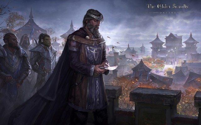 Król Emeric w towarzystwie swoich orkowych i redgardzkich sojuszników. - Przymierze Daggerfall (Daggerfall Covenant) | Frakcje i rasy - The Elder Scrolls Online - poradnik do gry