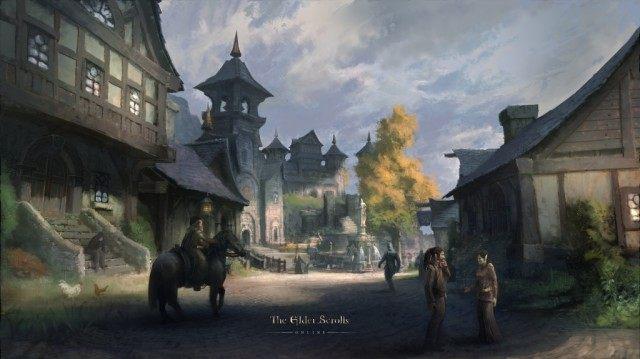 Daggerfall, drugie co do ważności miasto Wysokiej Skały. - Przymierze Daggerfall (Daggerfall Covenant) | Frakcje i rasy - The Elder Scrolls Online - poradnik do gry