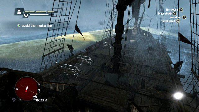 Żółta woda oznacza, że zaraz zostanie ostrzelana - 06 - Proper Defenses | Sekwencja 3 - Assassins Creed IV: Black Flag - poradnik do gry