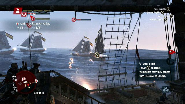 Ci�zki strza� - 06 - Proper Defenses - Sekwencja 3 - Assassins Creed IV: Black Flag - opis przej�cia