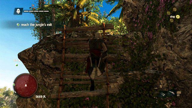 Dalsza droga to seria kolejnych skoków i wspinaczek - 07 - A Single Madman | Sekwencja 3 - Assassins Creed IV: Black Flag - poradnik do gry