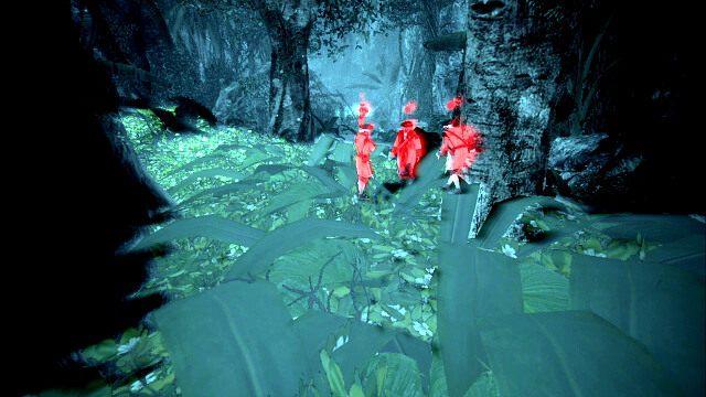 Po do dłuższym spacerze dotrzesz do małego skalnego przejścia, za którym znajdziesz już większe zgrupowanie żołnierzy, w tym jednego patrolującego bruta - 07 - A Single Madman | Sekwencja 3 - Assassins Creed IV: Black Flag - poradnik do gry
