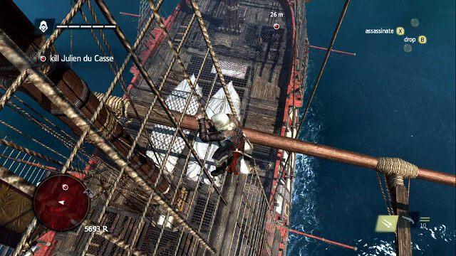 Wdrap się na masz - 07 - A Single Madman | Sekwencja 3 - Assassins Creed IV: Black Flag - poradnik do gry