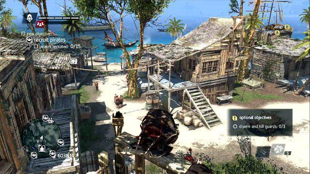 Stan za�ogi znajdziesz pod paskiem zdrowia - 02 - Now Hiring - Sekwencja 3 - Assassins Creed IV: Black Flag - opis przej�cia