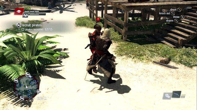 Kontruj�c bez broni masz mo�liwo�� rozbrojenia - 02 - Now Hiring - Sekwencja 3 - Assassins Creed IV: Black Flag - opis przej�cia