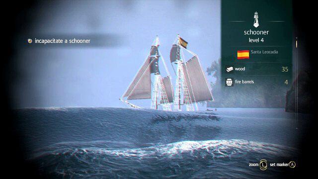 Lunet� identyfikujesz pobliskie statki - 03 - Prizes and Plunder - Sekwencja 3 - Assassins Creed IV: Black Flag - opis przej�cia