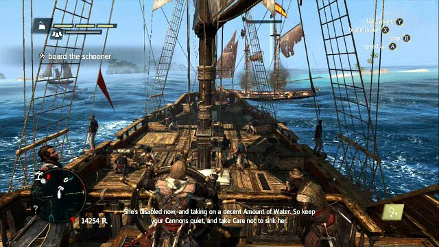 P�on�cy statek nie b�dzie d�u�ej ucieka� - 03 - Prizes and Plunder - Sekwencja 3 - Assassins Creed IV: Black Flag - opis przej�cia