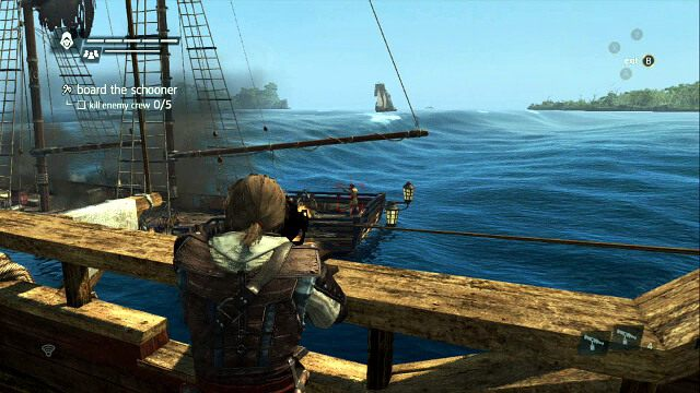 ZADANIE OPCJONALNE � zabij trzech marynarzy przy u�yciu folgierza - 03 - Prizes and Plunder - Sekwencja 3 - Assassins Creed IV: Black Flag - opis przej�cia
