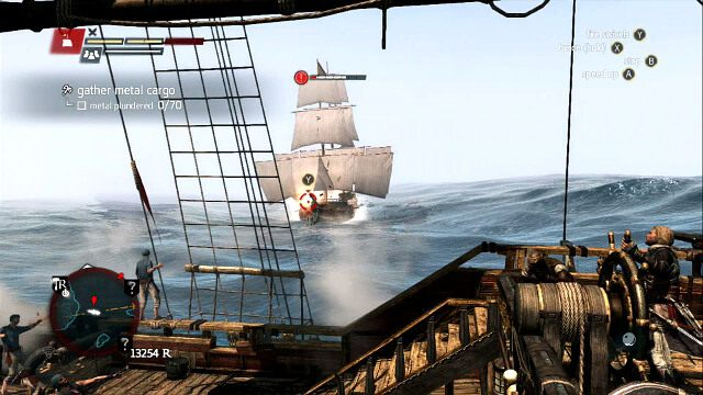 Bryg b�dzie stara� si� taranowa� - 04 - Raise the Black Flag - Sekwencja 3 - Assassins Creed IV: Black Flag - opis przej�cia