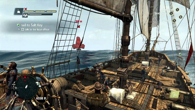 Hunter - 04 - Raise the Black Flag - Sekwencja 3 - Assassins Creed IV: Black Flag - opis przej�cia