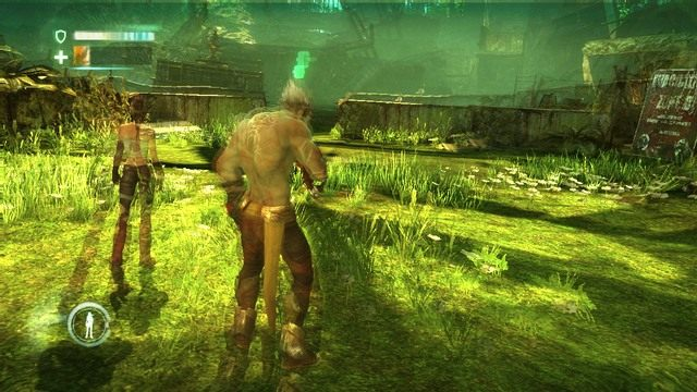 HUD - Chapter 2 - The Old City - Enslaved: Odyssey to the West - poradnik do gry