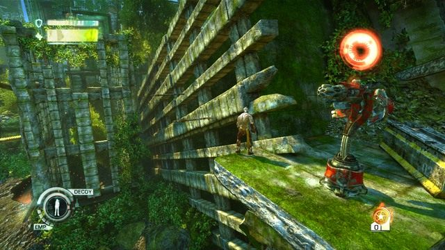 Droga powrotna po belkach - Chapter 2 - The Old City - Enslaved: Odyssey to the West - poradnik do gry