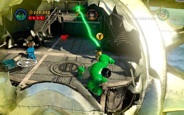 Mastermind to przeciwnik specjalizuj�cy si� w przejmowaniu umys��w - Taking Liberties - Opis przej�cia - LEGO Marvel Super Heroes - poradnik do gry