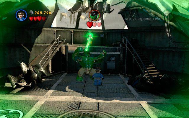 W ostatniej rundzie ofiarą ataku będzie Hulk - Taking Liberties - Opis przejścia - LEGO Marvel Super Heroes - poradnik do gry