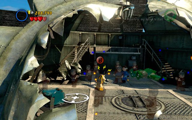 Ostatni cios zadasz jako Wolverine - Taking Liberties - Opis przej�cia - LEGO Marvel Super Heroes - poradnik do gry
