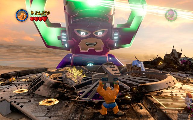 Galactus Bossowie Lego Marvel Super Heroes Poradnik Do Gry