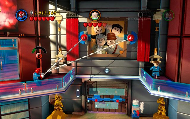 lego spiderman free online games