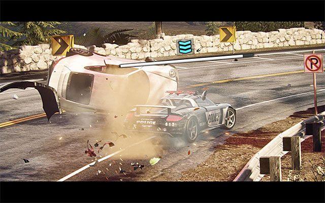 Wypadni�cie z trasy czy czo�owa kolizja niekoniecznie s� r�wnoznaczne z ko�cem zabawy - Uszkodzenia samochodu i jego naprawa - Podstawowe informacje - Need for Speed Rivals - oficjalny polski poradnik do gry