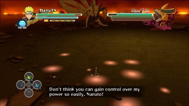 Uważaj na dystansowe ataki Kyuubiego - Overcoming Harted - Walki z bossami - Naruto Shippuden: Ultimate Ninja Storm 3 Full Burst - poradnik do gry