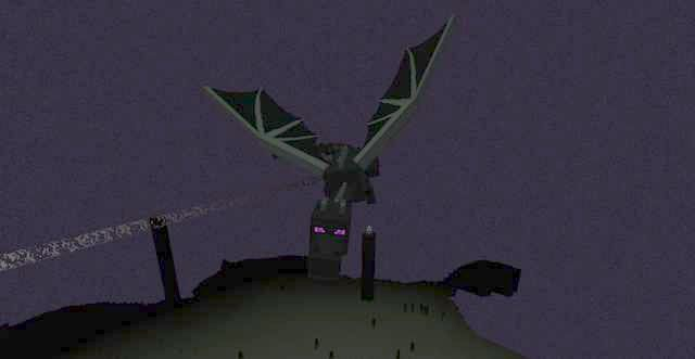 minecraft ender dragon portal