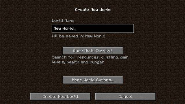how to create a new hexxit server world