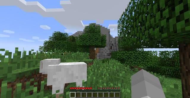 Losowe miejsce spawnu - Pierwszy dzień w Minecraft | Jak przeżyć - poradnik surwiwalu - Minecraft - poradnik do gry