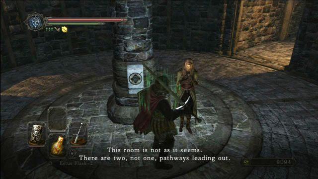 Porozmawiaj z Licia - Huntsmans Copse - droga do Undead Purgatory - Opis przejścia - Dark Souls II - poradnik, opis przejścia, bossowie