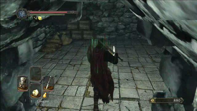 Rozpal ognisko - Huntsmans Copse - droga do Undead Purgatory - Opis przejścia - Dark Souls II - poradnik, opis przejścia, bossowie