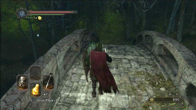 Przejdź przez most - Huntsmans Copse - droga do Undead Purgatory - Opis przejścia - Dark Souls II - poradnik, opis przejścia, bossowie