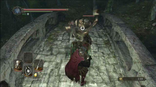 Pokonaj wroga - Huntsmans Copse - droga przez góry - Opis przejścia - Dark Souls II - poradnik, opis przejścia, bossowie