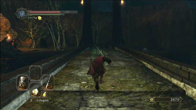 Przebiegnij przez most - Huntsmans Copse - droga przez góry - Opis przejścia - Dark Souls II - poradnik, opis przejścia, bossowie
