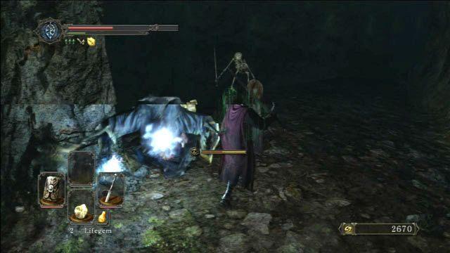 Pokonaj maga - Huntsmans Copse - droga przez góry - Opis przejścia - Dark Souls II - poradnik, opis przejścia, bossowie