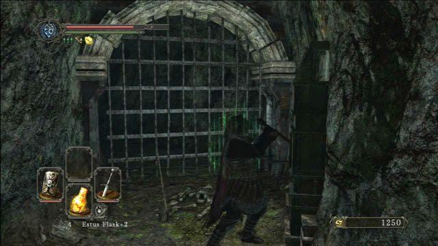 Odblokuj skrót - Huntsmans Copse - droga przez góry - Opis przejścia - Dark Souls II - poradnik, opis przejścia, bossowie