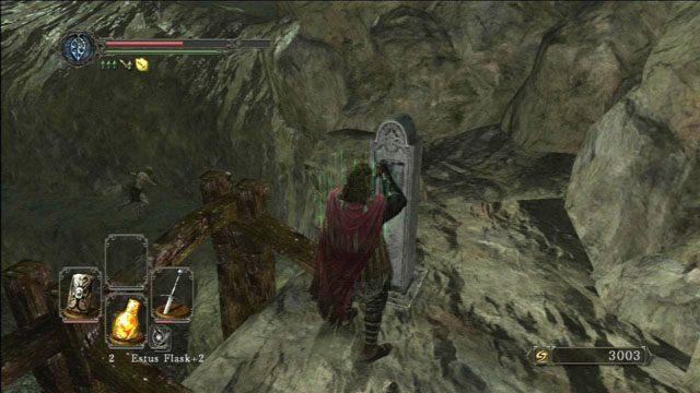 Użyj dźwigni - Harvest Valley - Opis przejścia - Dark Souls II - poradnik, opis przejścia, bossowie