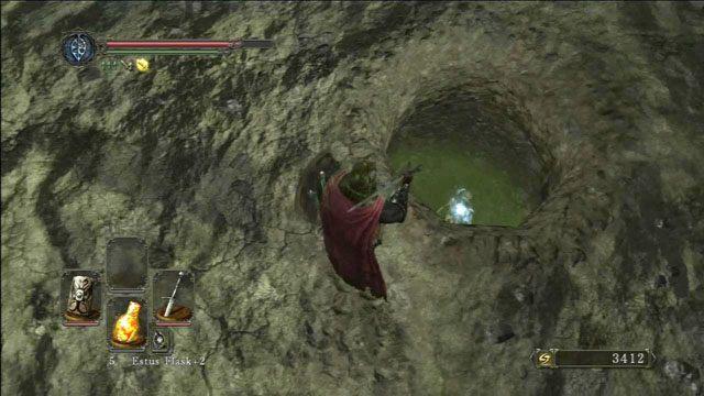 Wskocz do dziury - Harvest Valley - Opis przejścia - Dark Souls II - poradnik, opis przejścia, bossowie